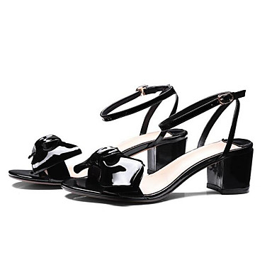 Amande 06838070 Noir Confort Bottier Talon Chaussures Cuir Rouge Nappa Femme Sandales Eté 8vPqRw7