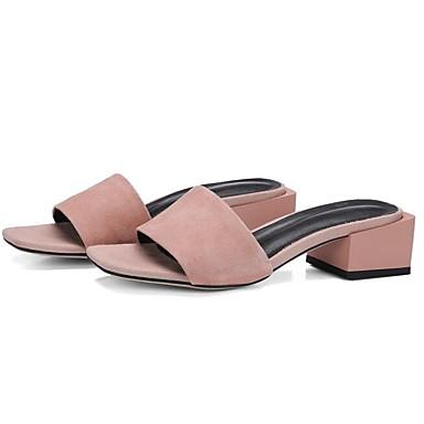 06840673 Noir Confort Femme Chameau Printemps Rose Chaussures Bottier Daim Talon Sandales RRxvpa