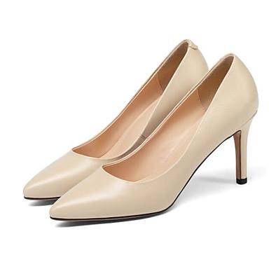 Chaussures Chaussures Femme 06797479 Aiguille Talons à Printemps Nappa Talon amp; Soirée Amande Confort Evénement Cuir Noir rXzWz0Ad