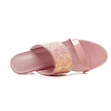 Printemps Noir synthétique 06863848 Confort Sandales Rose Chaussures Talon Femme hétérotypique Matière A6fqPnAxw
