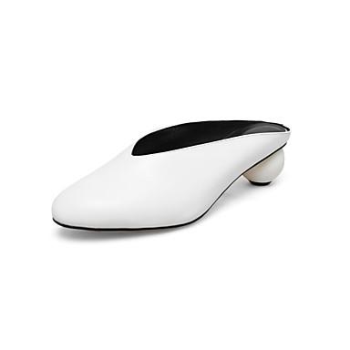 Cuir Sabot Mules Printemps Femme été 06857281 Noir Nappa Confort Blanc Jaune Talon Chaussures amp; hétérotypique TxqwY5wfS