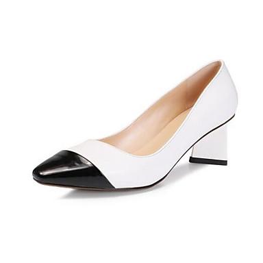 Noir Femme Printemps Nappa Escarpin Talon 06863471 Talons Chaussures à Bottier Chaussures Cuir Basique B6HxwqPBr