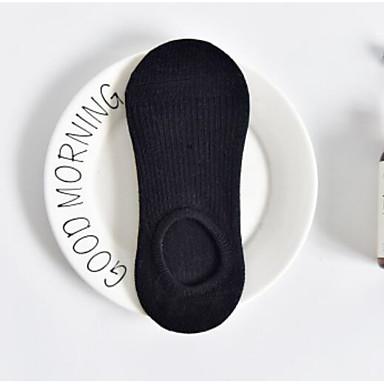 1 Paio Per Donna Calzini Standard Tinta Unita Sport Stile Semplice Cotone Eu36-eu42 #06898256 Caldo E Antivento