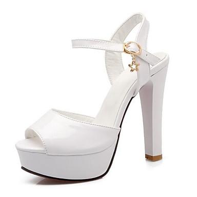 Zapatos Stiletto Tacón Mujer Negro Confort Sandalias Verano Blanco 06856521 Rosa PU dwXBnwxY