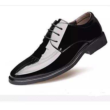 Homme Chaussures de confort confort confort Microfibre Printemps & Automne Oxfords Noir / Marron | Moelleux Et Léger  7a0437