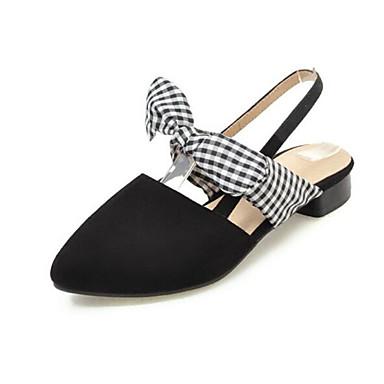 Girls' Shoes Suede Spring Comfort / Flower Black Girl Shoes Sandals for Black Flower / Gray / Burgundy 297501