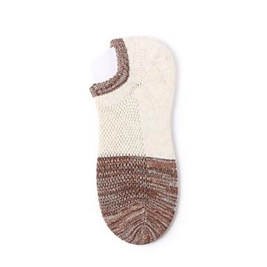 abordables Accessoires pour Chaussures-Homme Chaussettes Couleur Pleine Des sports Coton EU36-EU42