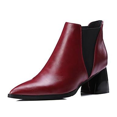 à 06848122 Bottes Gris Bottine Bottier la Polyuréthane Talon Chaussures Rouge Noir pointu hiver Botte Automne Mode Bout Demi Femme Bottes w8HqXTB