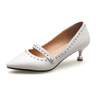Femme Talon amp; Confort Rose Talons Automne Chaussures Cône Basique Printemps Chaussures Beige Polyuréthane Escarpin Noir à 06848617 WHqwcRWfg
