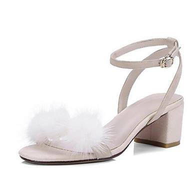 Confort Rose Bottier 06857350 Cuir Noir Talon Amande Sandales Femme Chaussures Eté Nappa 4CqnxwFzp
