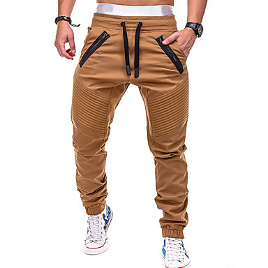 <b>Men's</b> Pocket Jogger Pants Running Pants Sports Color Block Pants ...