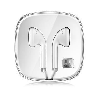 MEIZU EP21 In Ear Cable Headphones Earphone Copper Mobile Phone Earphone with Microphone / with Volume Control Headset