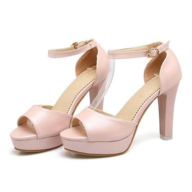 Aiguille Blanc Chaussures Talon Polyuréthane Basique Escarpin Noir Eté Confort Femme Rose Sandales 06850157 zqSwR8dx