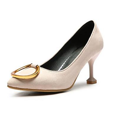 hommes / femmes est < femmes (polyuréthanne) de été chaussures confort les talons de (polyuréthanne) talon aiguille Blanc  / Bleu  / Rose  < mise à jour b5902d
