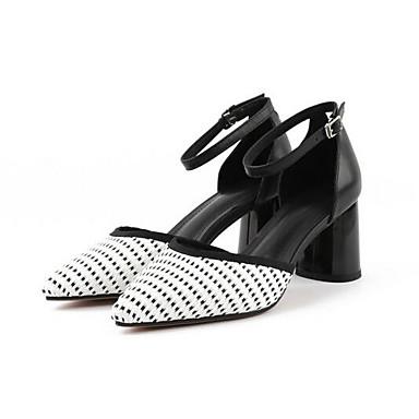 à Chaussures Talons Femme Bottier Noir Talon Eté Cuir Blanc 06863855 Nappa Escarpin Chaussures Basique rxqqY0FZw