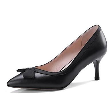 Aiguille Basique Escarpin Femme Printemps Noir Talons à Amande Chaussures Chaussures Talon Cuir 06863859 Nappa wwvBAX