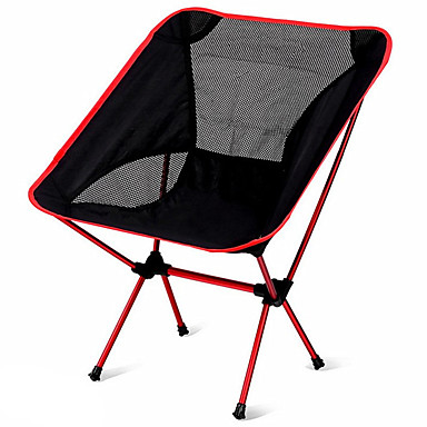 cheap Camping, Hiking & Backpacking-Camping Folding Chair Outdoor Portable, Lightweight Aluminium Alloy 7005, Oxford Cloth, Oxford for 1 person Fishing / Beach / Camping - Dark Blue, Navy Blue, Fuchsia