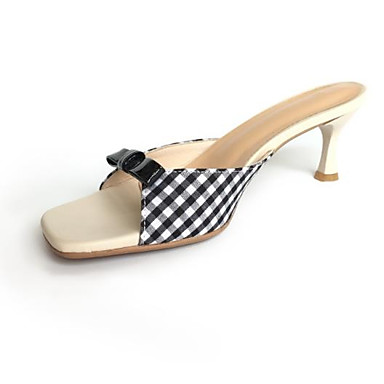 Eté 06841606 Femme Cuir Noir Confort Aiguille Rouge Sandales Chaussures Talon HEwE6Sq