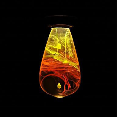 abordables Ampoules électriques-1pc 3 W 160/ E26 / E27 ST64 1 Perles LED LED Haute Puissance Créatif Design nouveau Décorative Blanc Chaud 90-240 V