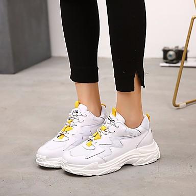 73639a274c1 Γυναικεία Παπούτσια άνεσης Δίχτυ Άνοιξη & Χειμώνας / Καλοκαίρι Αθλητικό  Αθλητικά Παπούτσια Τρέξιμο Creepers Στρογγυλή Μύτη