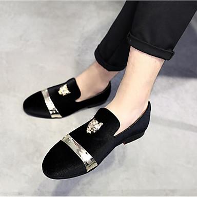 18be8c8515ea billige Shoes Trends-Herre Formelle Sko Syntetisk læder Efterår vinter  Afslappet   Kineseri Tøfler  amp