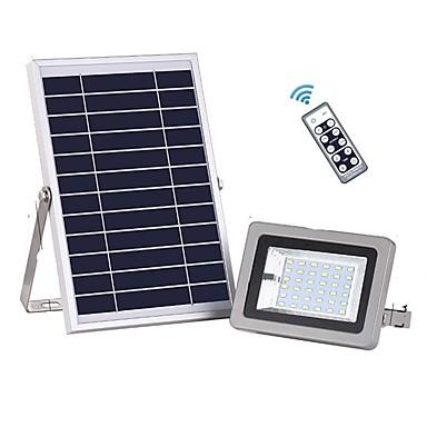 abordables Éclairage Extérieur-1pc 18w solaire lumière de télécommande télécommande étanche sécurité extérieure avec 36 led pour garage cour jardin pelouse de basket