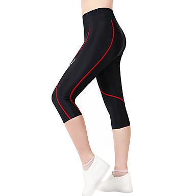 WOSAWE Dame / Unisex Fôrede sykkelshorts Sykkel Shorts / 3/4 Tights / Bunner 3D Pute, Fort Tørring, Anatomisk design Polyester, Spandex