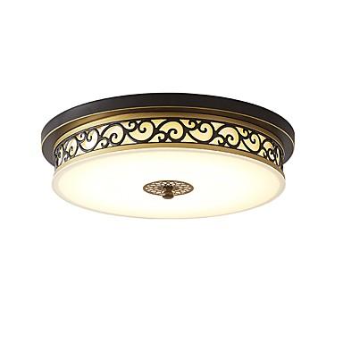 Cylinder / Nowość Podtynkowy Światło rozproszone Metal Ochrona oczu, Przygaszanie 220-240V Ciepła biel + biały Źródło światła LED w zestawie / LED zintegrowany