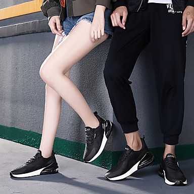 Homme Chaussures de confort Maille Chaussures Automne Décontracté Chaussures Maille d'Athlétisme Marche Respirable Noir / Noir / blanc / Vert foncé 98564e