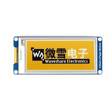 waveshare 2.9 inčni e-papir modul (c) 296x128 2.9 inčni modul e-ink tinta žuto / crno / bijelo trobojno