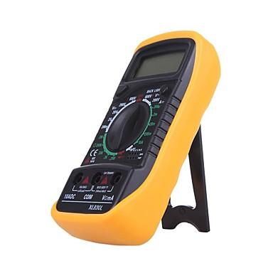 voordelige Test-, meet- & inspectieapparatuur-Hot koop digitale multimeter xl830l voltmeter ampèremeter multimeter ac dc volt ohm tester lcd test huidige overbelasting beschermen