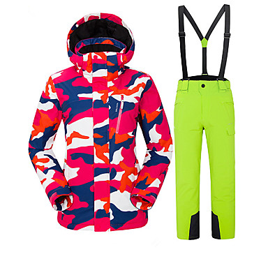 ff2905bdfd Vector Women s Ski Jacket with Pants Thermal   Warm Windproof Rain-Proof Skiing  Camping