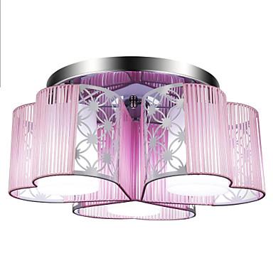 Lightinthebox 3-Light Takplafond Omgivelseslys Krom Metall LED 110-120V / 220-240V Varm Hvit / Hvit / E26 / E27