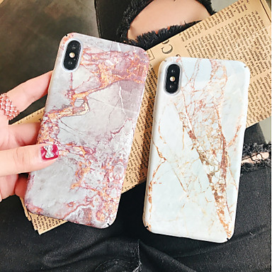 cheap Marble Case-Case For Apple iPhone XS / iPhone XR / iPhone XS Max Pattern Back Cover Marble Hard PC
