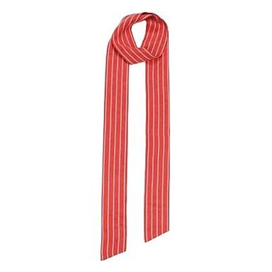 Consegna Veloce Seta Sciarpa - Fiocco Per Donna Quotidiano Rosso #06947953 Senza Ritorno