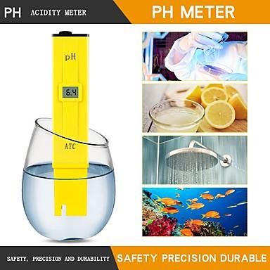 voordelige Test-, meet- & inspectieapparatuur-Rz-ph124 lcd digitale ph meter pen van tester intrumentos de medidas tuin hydrocultuur wijn urine aquarium zwembad water