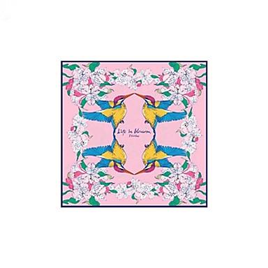 Недорогие Аксессуары для сумок-Шелк Шарф / лента Жен. Повседневные Розовый