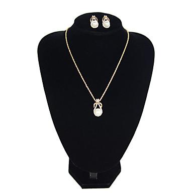 Žene Viseće naušnice Choker oglice Klasičan Jednostavan Klasik Naušnice Jewelry Obala Za Dnevno Festival 1set