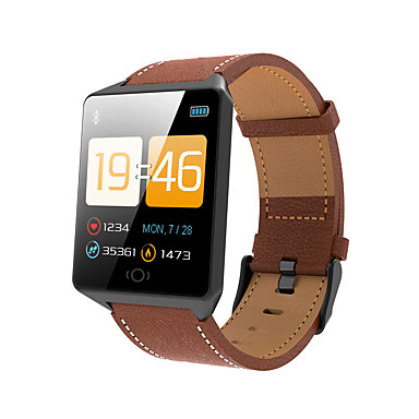 Indear CK12 Smart Bracelet Smartwatch Android iOS Bluetooth Sports Waterproof Heart Rate Monitor Blood Pressure Measurement Touch Screen Pedometer Call Reminder Activity Tracker Sleep Tracker