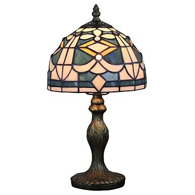 Tiffany Ambient Lamper / Dekorativ Bordlampe Til Leserom / Kontor / butikker / cafeer Harpiks 110-120V / 220-240V
