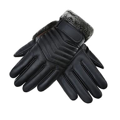 Cijeli prst Muškarci Moto rukavice Koža Ugrijati / Otporno na nošenje / Ne skliznuti