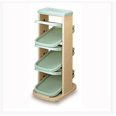 abordables Accessoires pour Chaussures-Cintre & Range Chaussures Plastique 6 niveaux Unisexe Bleu / Vert / Orange