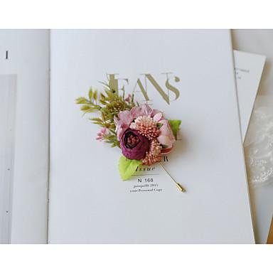 Žene Broševi Retro Broš Jewelry Rose Pink Za Vjenčanje Svečanost