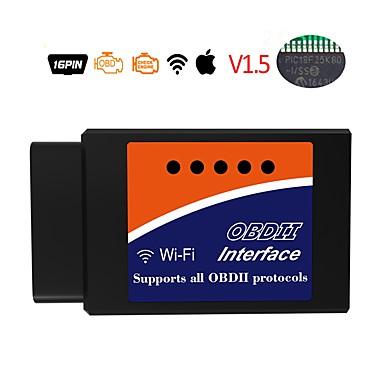 elm327 16 pin obd2 wifi v1.5 auto dijagnostički alat auto detektor kvara vozila čitač pogrešaka kod čitač skener