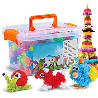Stavební bloky Míčky Vzdělávací hračka 400+36 pcs Eyes Srdce kompatibilní Legoing Udělej si sám Interakce rodič-dítě Unisex Chlapecké Dívčí Hračky Dárek