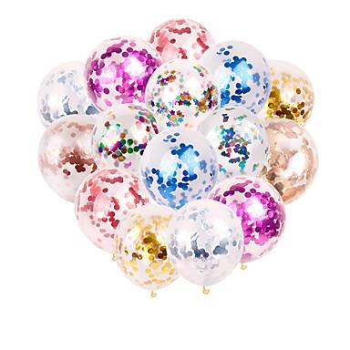 Недорогие Декор для свадьбы-Воздушный шар эмульсионный 20 Вечеринка / ужин