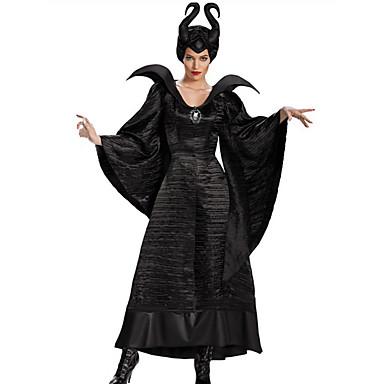 83ff54c6 Trollmann / heks Eventyr Cosplay Kjoler Cosplay Kostumer Hatter Party- kostyme Voksne Dame Jul Halloween