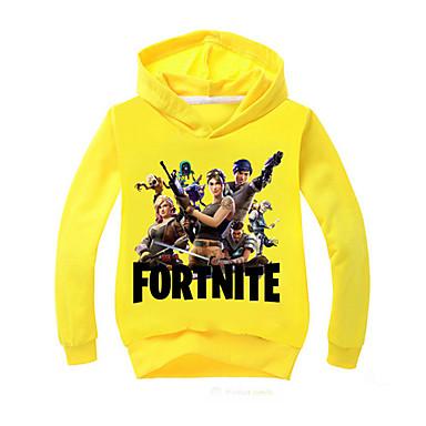 61738672dbb4 Kids Girls  Basic Solid Colored   Print Long Sleeve Cotton   Polyester  Hoodie   Sweatshirt Pink