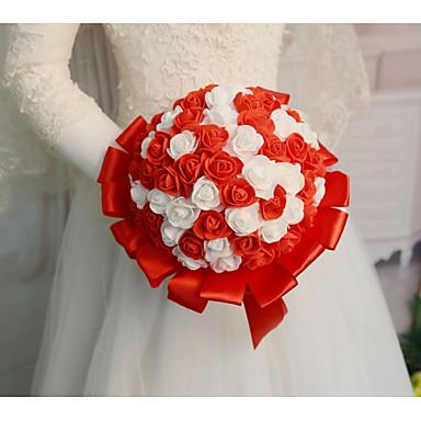 Cvijeće za vjenčanje Buketi Vjenčanje / Svadba Svila / PORON guma 11-20 cm