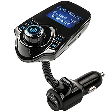 """billige Bluetooth Bil Sæt/""""Hands-free""""-4.1 Bluetooth Bil Sæt Bil håndfri mp3 / FM Radio Bil"""